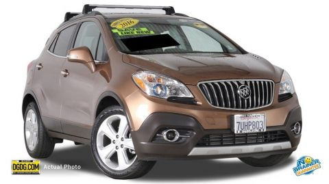 Used Buick Encore Leather